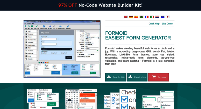 Access formoid com  Formoid - Beautiful CSS Form Generator