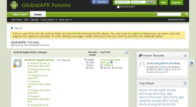 Access forum globalapk co  GlobalAPK Forums