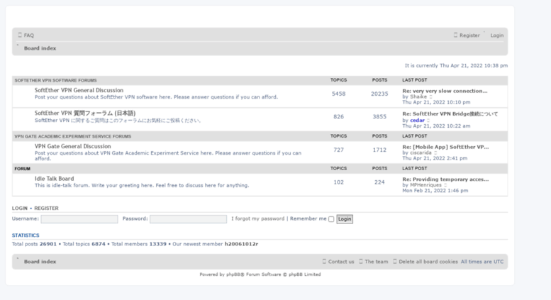 Access forum vpngate net  SoftEther VPN User Forum - Index page