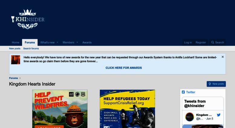 Access forums khinsider com  Kingdom Hearts Forums