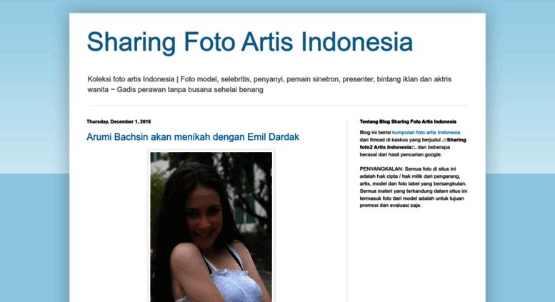 Koleksi Foto Artis access fotoartis-indo.blogspot. sharing foto artis indonesia