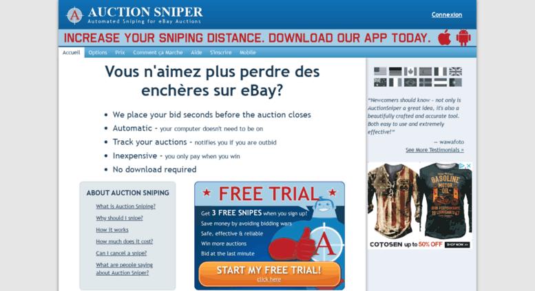Ebay Bid Sniper >> Access Fr Auctionsniper Com Auction Sniper Ebay Sniper And