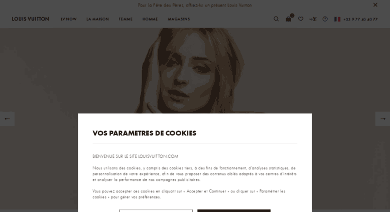 Access fr.louisvuitton.com. Site Officiel France   Vente en ligne ... 347b631b465