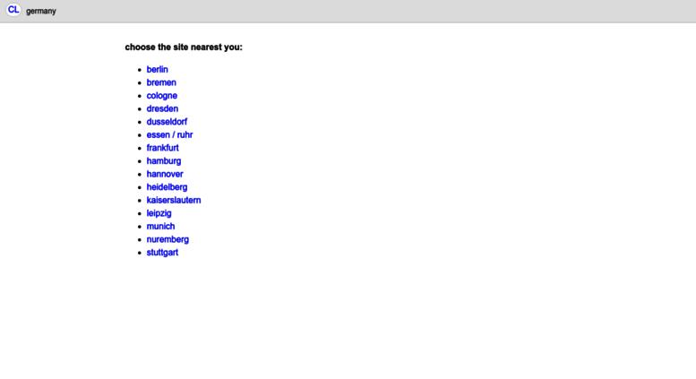 Access Frankfurt De Craigslist De Craigslist Frankfurt Jobs