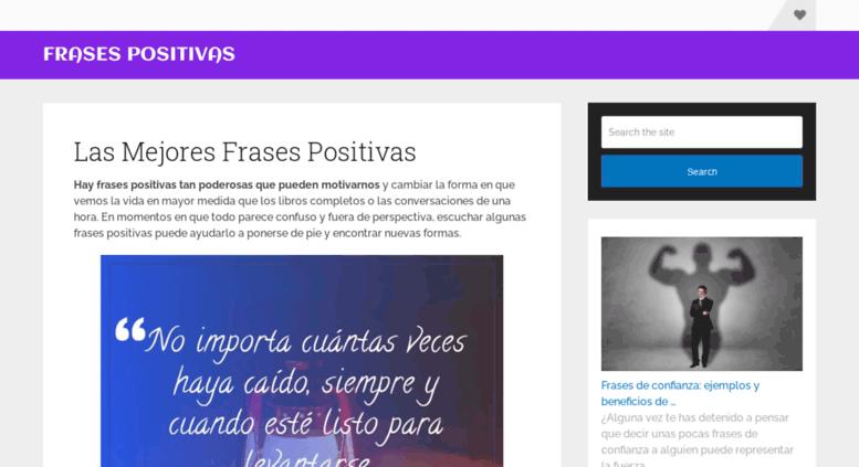 Access Frasespositivasorg ᐈ 150 Frases Positivas Cortas