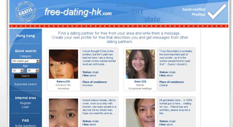 Gratis dating chat