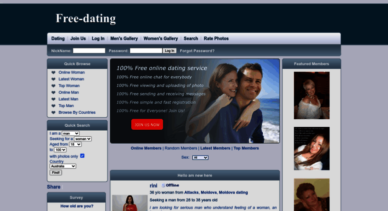 Dating gratis site.com