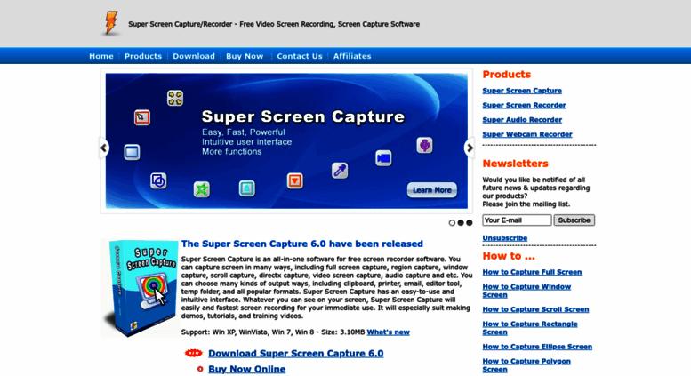 Access free-screen-capture com  Super Screen Capture
