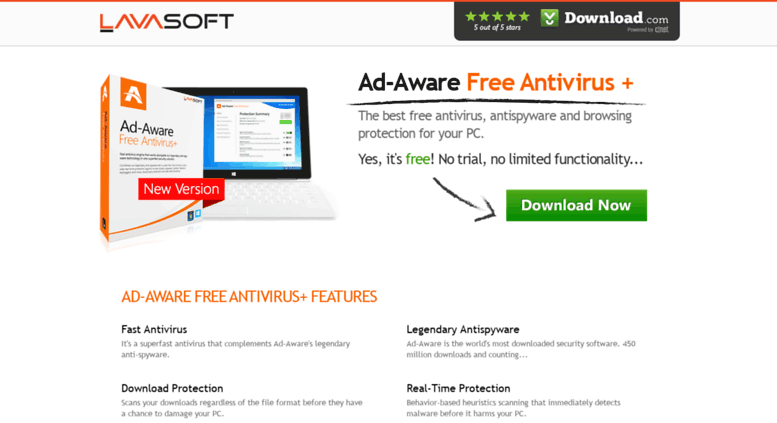 Ad-aware free antivirus and free antispyware software download.