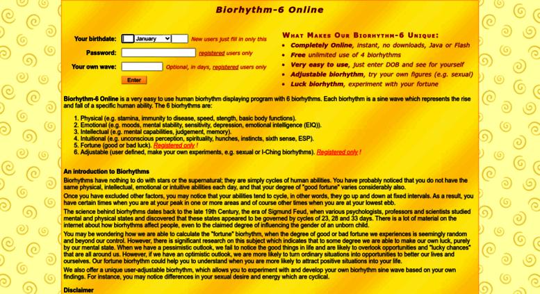 Freebiorhythm Screenshot