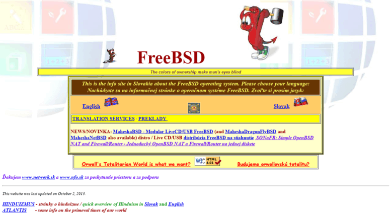 Access freebsd nfo sk  FreeBSD and OpenBSD with various tips