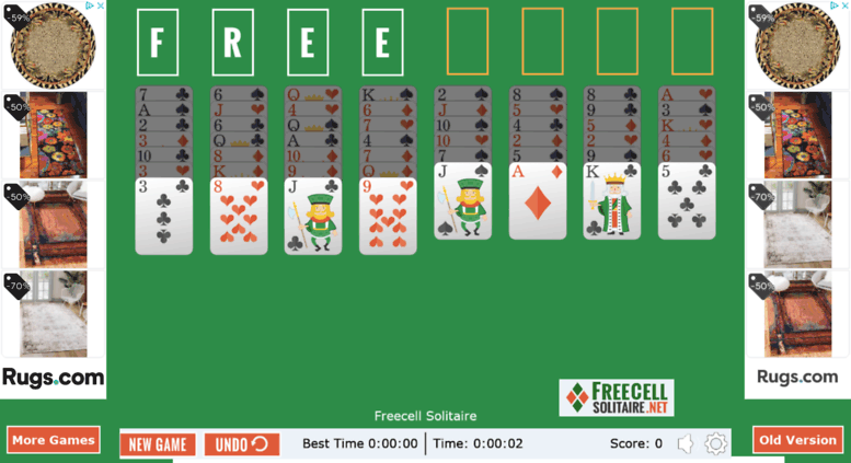 Christmas Solitaire Freecell.Access Freecellsolitaire Net Freecell Solitaire