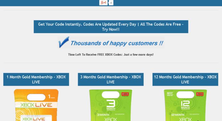 Access freecodesxbox com  Free Xbox Live Codes And Microsoft