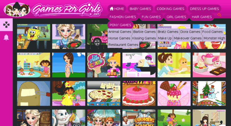 Access freedressupgames net  Games for Girls - Play Free