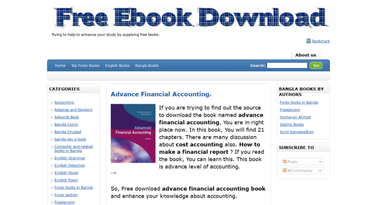 Download ebook accounting free