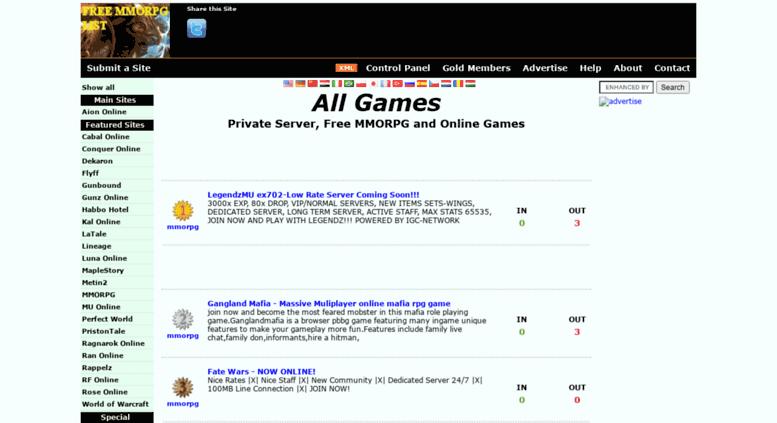 Access freemmorpglist org  FreeMmorpgList - aion private servers