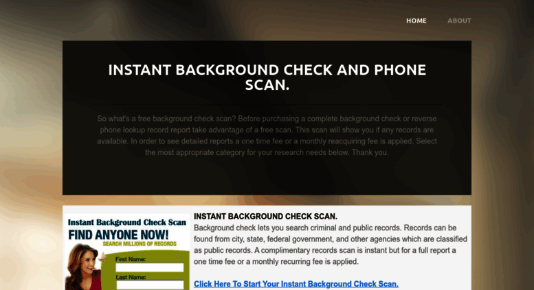 Access freepeoplescan com  Free Background Check, People