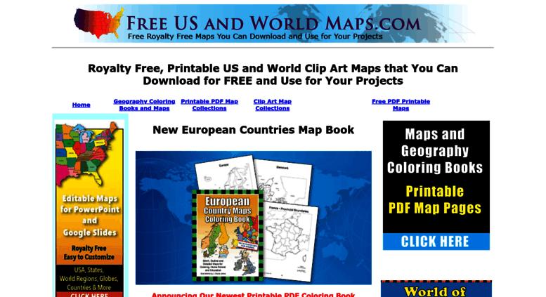 Access freeusandworldmaps.com. Royalty Free US and World Map ...