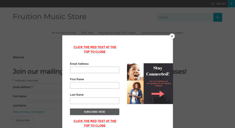Access fruitionmusicstore net  Fruition Music Store