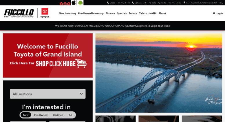 Fuccillo Toyota Of Grand Island S In Ny