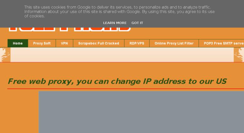 Access full-proxy blogspot be  Free Proxy List - Public
