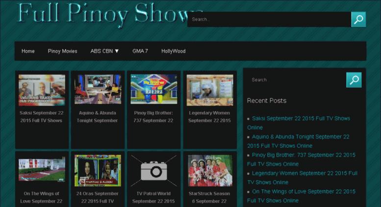 Access fullpinoyshows com  Pinoy Replay Teleserye Pinoy ako