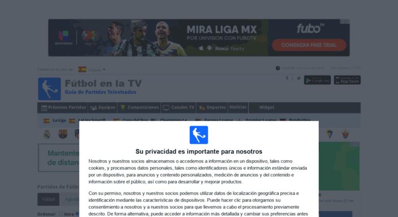 bea8e57d0d529 Access futbol-sala.futbolenlatv.es. Fútbol en la tele