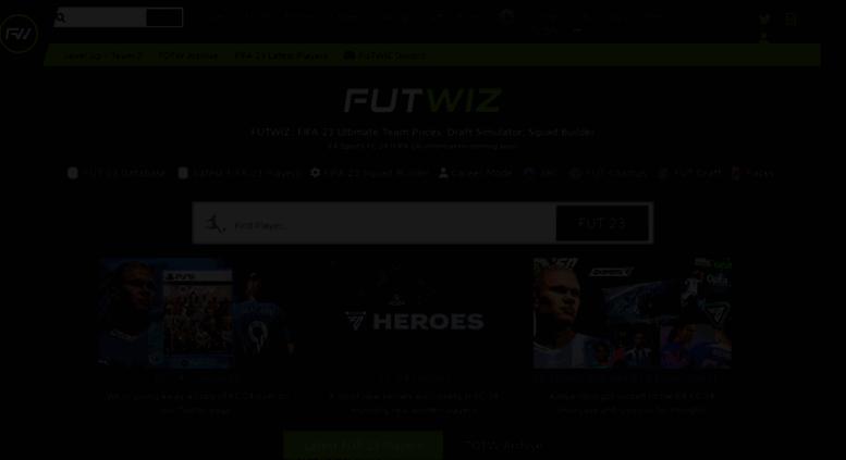 access futwiz com  fifa 19 squad builder  ultimate team