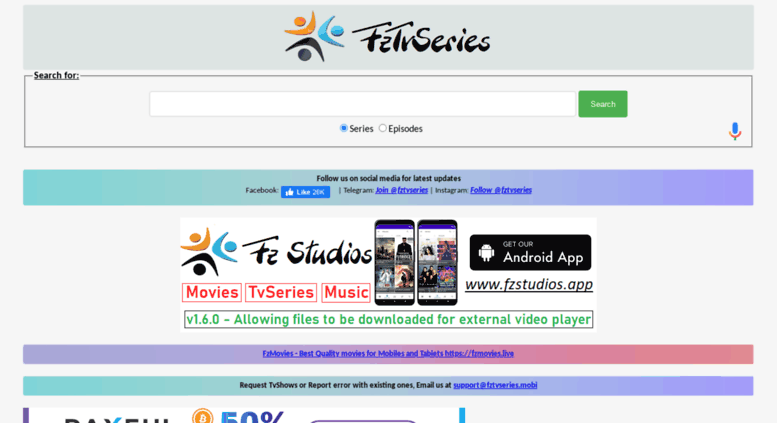 Access fztvseries mobi  TV series, shows/Cartoon, Anime