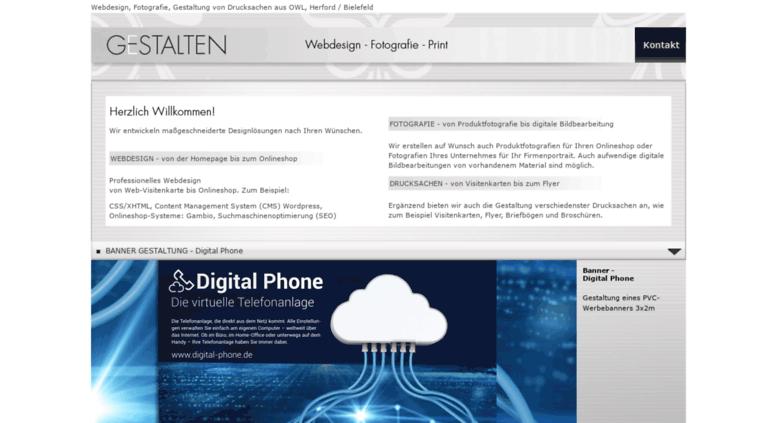 Access G Stalten Com G Stalten Webdesign Owl Herford