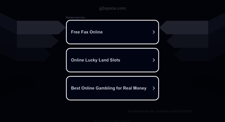 Access G2spacecom G2space Jeux Gratuits Pour Gagner Des