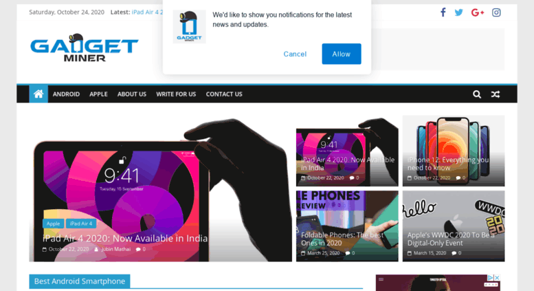 Access gadgetminer com  GadgetMiner - Get reviews about Gadgets