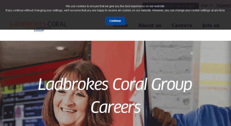 Access galacoral careers  Welcome - The Ladbrokes Coral Group