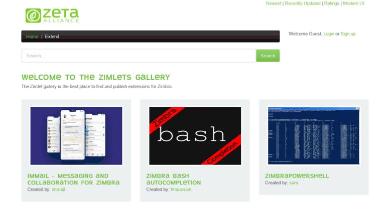 Access gallery zimbra com  Zimbra org: Items