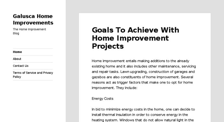 Access galusca com  Galusca Home Improvements | The Home