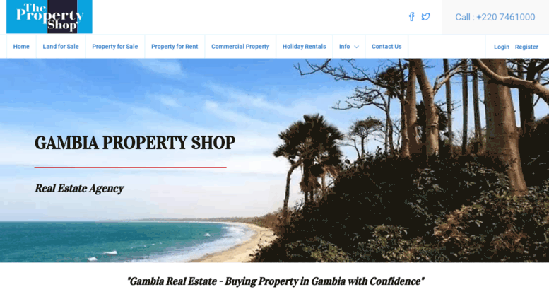Access Gambiapropertyshop Com Gambia Property Shop Real Estate