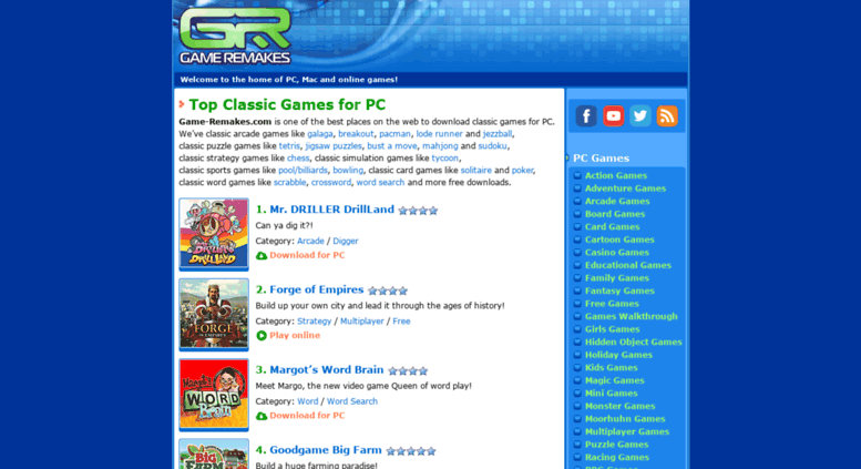 Access game-remakes com  Game Remakes - download games for
