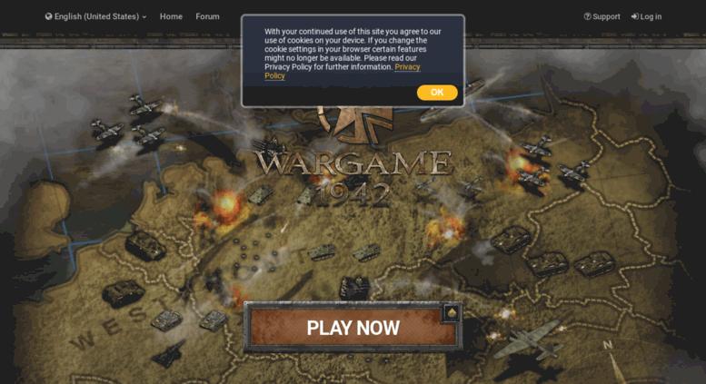 Www Wargame1942 Us