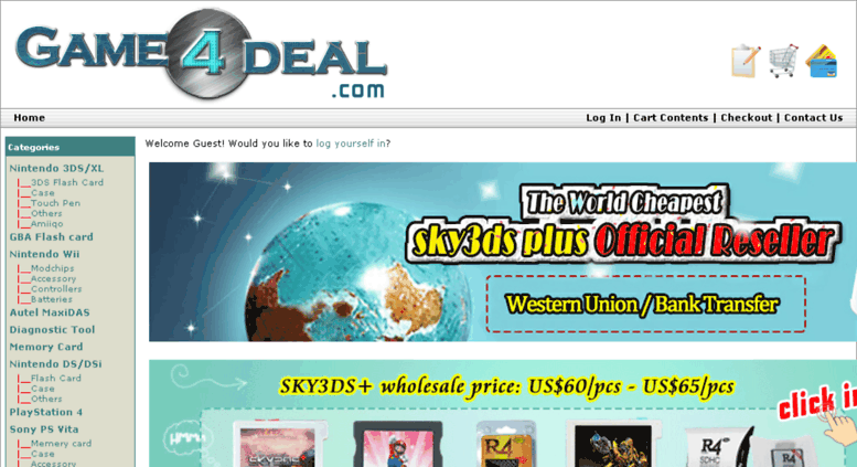 Access game4deal com  Wholesale R4 3DS flashcard, R4DS, R4I SDHC