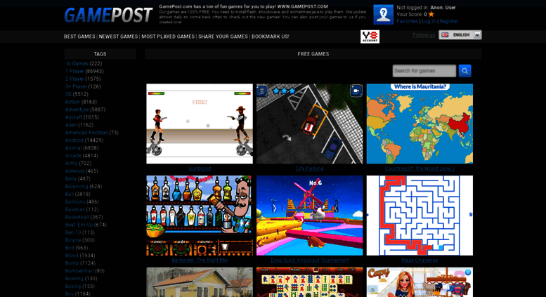 Access gamepost com  GamePost com - Free Online Games - Play