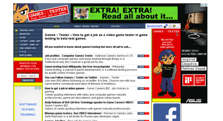 Access Gamestester Games Tester