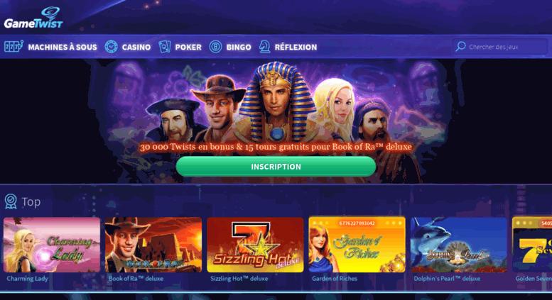 Web Games Twist Casino