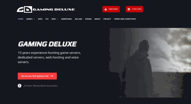 Access Gamingdeluxecouk Quality Game Server Hosting Teamspeak