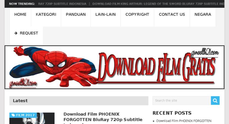 Access ganoollk21 com  Download Film Gratis Terbaru | Nonton Film