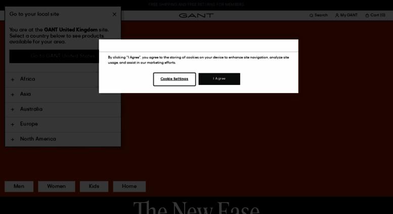 307aa04fde Access gant.co.uk. GANT UK: The Official GANT Online Store