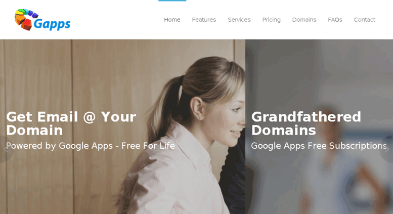 Access gappsdomain com  Grandfathered Domains with Standard