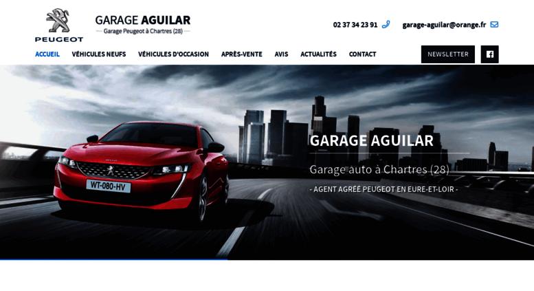 Access Garage Aguilarfr Garage Aguilar Votre Agent Peugeot à
