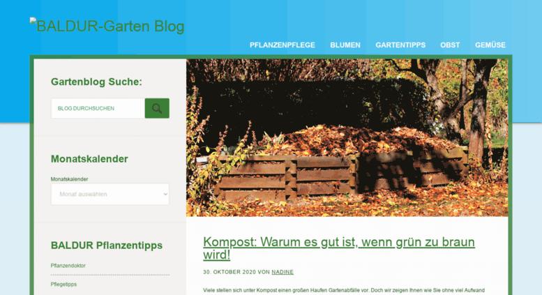 Access Gartenblogbaldur Gartende Gartenblog Rund Um Pflanzen