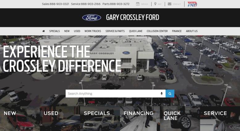 Kansas City Ford Dealers >> Access Garycrossleyford Com Gary Crossley Ford Kansas