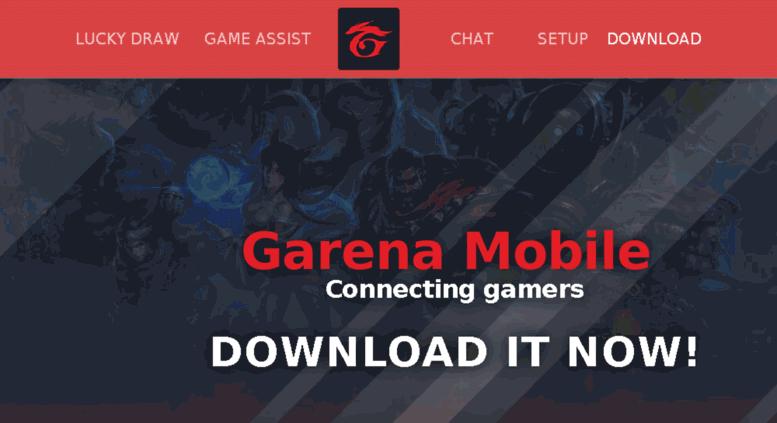 Access gas garena ph  Garena Mobile